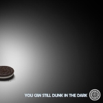 SuperBowl Oreo. You can still dunk in the dark